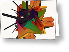 Composition 002 Greeting Card