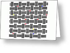 Composition 2 Greeting Card
