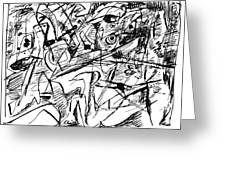 Composition Three Greeting Card