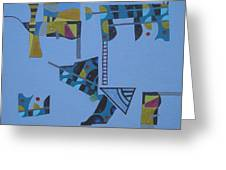 Composition Xiv 07 Greeting Card