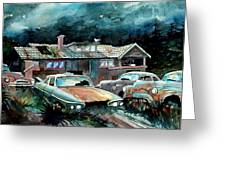 Compound In Cumberland Gap Greeting Card