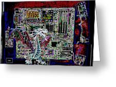 Computer 22 Greeting Card