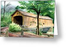 Comstock Bridge Greeting Card