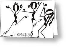 Con-tempo-rary Greeting Card