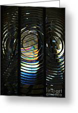 Concentric Glass Prisms Greeting Card
