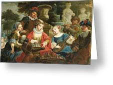 Concert In A Park Greeting Card
