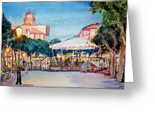 Concert To St Jean-de-luz Greeting Card