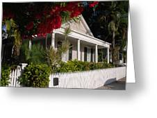 Conch House In Key West Greeting Card