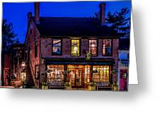 Concord Market And Cafe Greeting Card