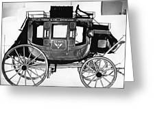 Concord Stagecoach Greeting Card