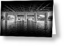 Concrete Bridge Greeting Card
