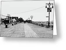 Coney Island Boardwalk Greeting Card