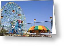 Coney Island Memories 6 Greeting Card