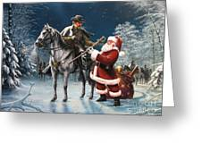 Confederate Christmas Greeting Card by Dan  Nance