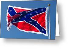 Confederate Flag 4 Greeting Card