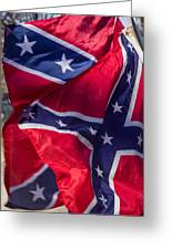 Confederate Flag 5 Greeting Card