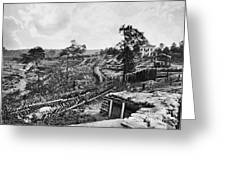 Confederate Fort Greeting Card