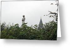 Confederate Soldier Standing Tall Greeting Card