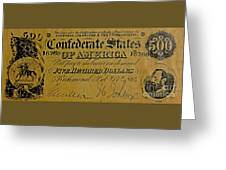 Confederate States Greeting Card
