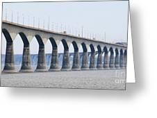 Confederation Bridge 5511 Greeting Card