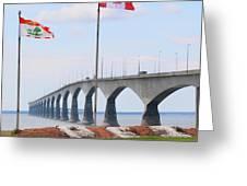 Confederation Bridge 5524  Greeting Card