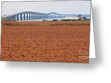 Confederation Bridge 5531 Greeting Card