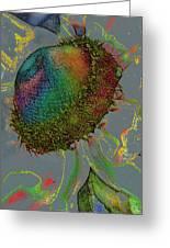 Confetti Flower Greeting Card