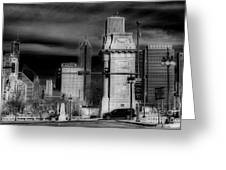 Congress Parkway Greeting Card