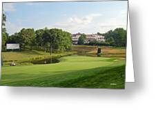 Congressional Blue Course - The Finish - Par 4 18th Greeting Card