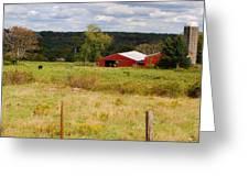 Connecticut Farm Greeting Card