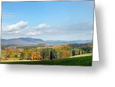 Connecticut Scenic Vista Greeting Card