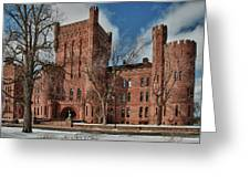 Connecticut Street Armory 3997a Greeting Card