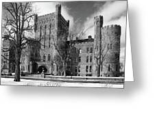 Connecticut Street Armory 3997b Greeting Card
