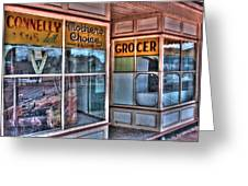 Connelly Bros Store. Greeting Card by Ian  Ramsay