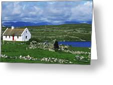 Connemara, Co Galway, Ireland Cottages Greeting Card