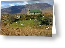 Connemara Cottage Ireland Greeting Card