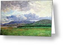Connemara Mountains Greeting Card