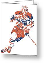 Connor Mcdavid Edmonton Oilers Pixel Art 6 Greeting Card