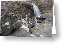 Connor Pass Waterfall Greeting Card