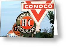 Conoco Sign 081117 Greeting Card