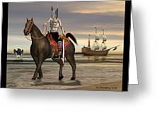 Conquistador Greeting Card