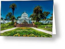 Conservatory Of Flowers - San Francisco Greeting Card