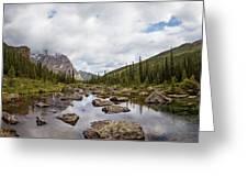 Consolation Lake Banff Greeting Card