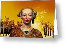 Constance  Greeting Card by Sabine Stetson