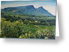 Constantia Valley Cape Town South Africa 2017 Greeting Card