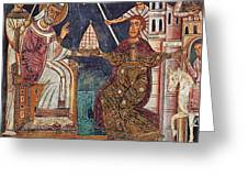 Constantine I (c280-337) Greeting Card