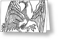 Constellation: Aquila Greeting Card