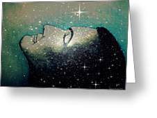 Constellation Of Dreams Greeting Card by Paulo Zerbato