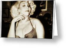 Consuela Del Rio. Drag Mother At The Greeting Card