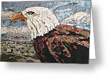 Consumer Eagle Veiw  Greeting Card